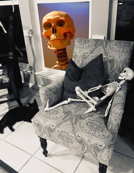 Digital Art - Halloween Window Dressing by Tristan Armstrong