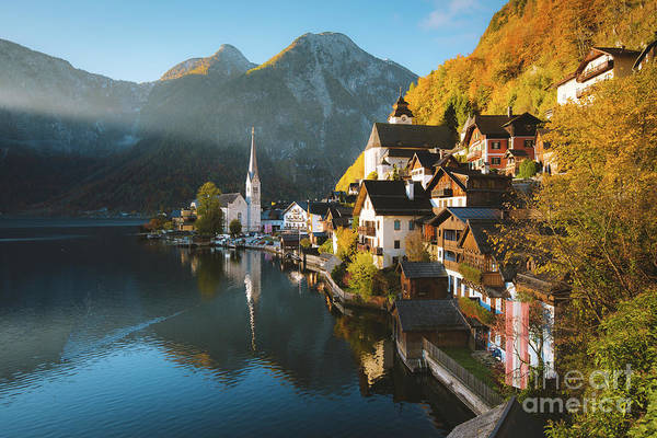 Wall Art - Photograph - Hallstatt First Light by JR Photography