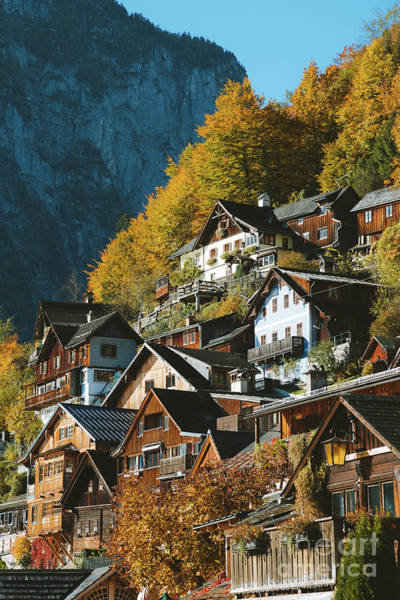 Wall Art - Photograph - Hallstatt In Fall #2 by JR Photography