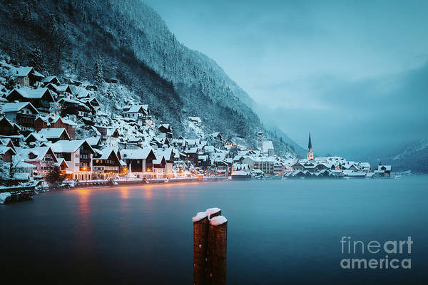 Wall Art - Photograph - Hallstatt Winter Dawn by JR Photography
