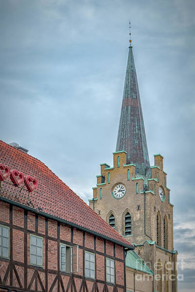 Wall Art - Photograph - Halmstad Church From Old Town by Antony McAulay