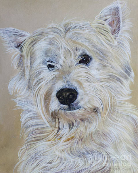 Painting - Hamish by Odile Kidd