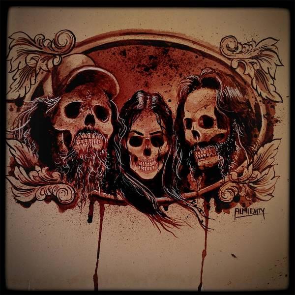Serial Killer Painting - Hammerlock by Ryan Almighty
