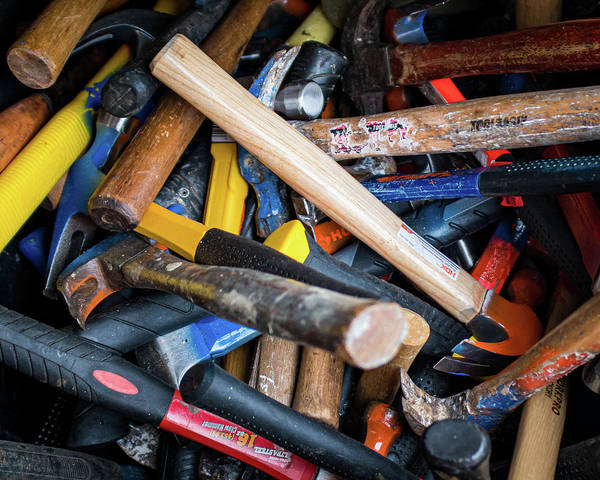 Photograph - Hammers by Jeff Phillippi