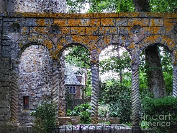 Photograph - Hammond Castle Entryway by Mary Capriole