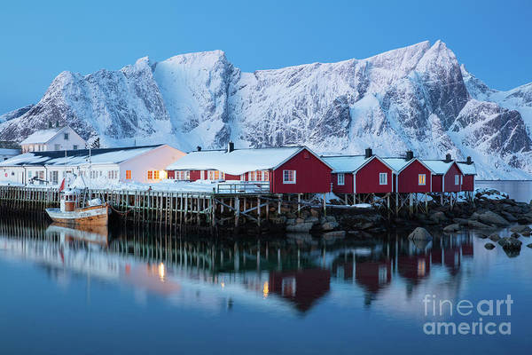 Wall Art - Photograph - Hamnoy Dawn by Inge Johnsson