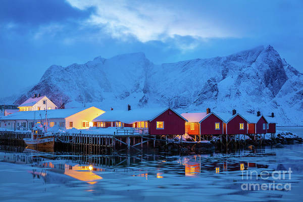 Wall Art - Photograph - Hamnoy Icy Waters by Inge Johnsson