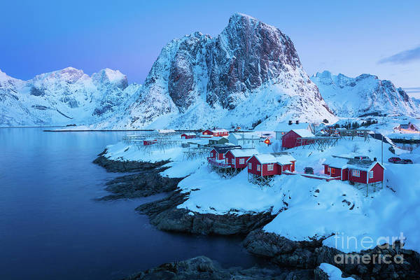 Wall Art - Photograph - Hamnoy Rorbuer by Inge Johnsson