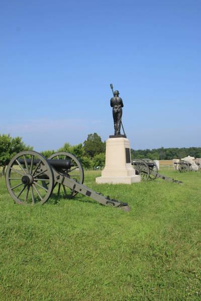 Artillery Brigade Photograph - Hamptons Battery F Pennsylvania Light Artillery by William Rogers