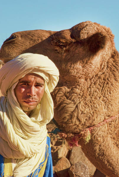Photograph - Hamza And His Camel by Jessica Levant