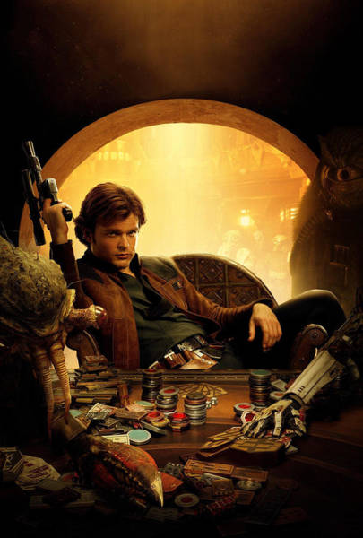 Han Solo Wall Art - Digital Art - Han Solo A Star Wars Story by Geek N Rock