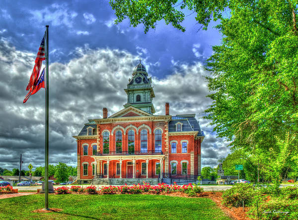 Photograph - Hancock County Court House 3 Georgia Court Houses Historic Architecture Art by Reid Callaway