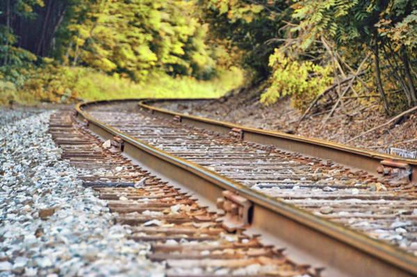 Photograph - Hancock Railroad by JAMART Photography