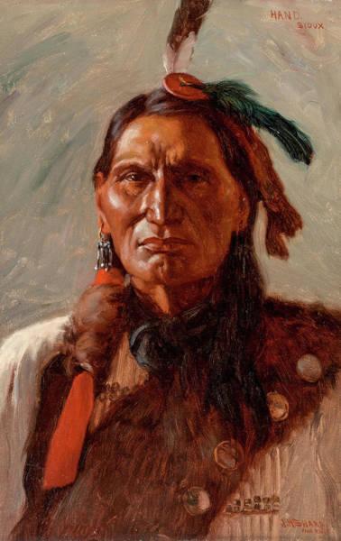 Wall Art - Painting - Hand, 1900 by Joseph Henry Sharp