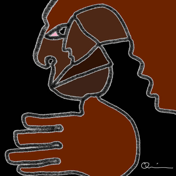 Digital Art - Hand 2 by Jeff Quiros