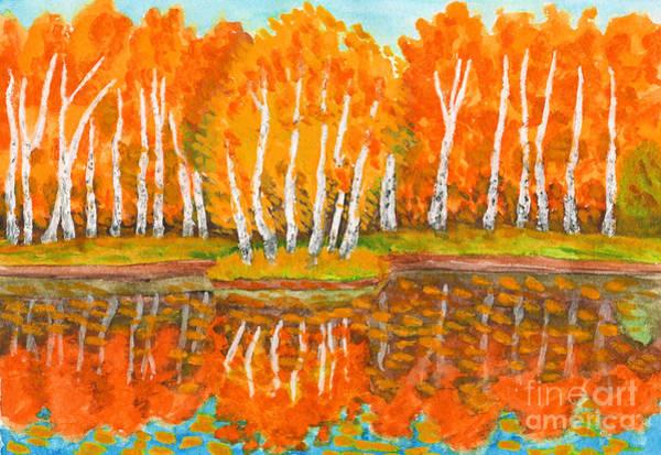 Wall Art - Digital Art - Hand Painted Picture, Watercolours - by Irina Afonskaya