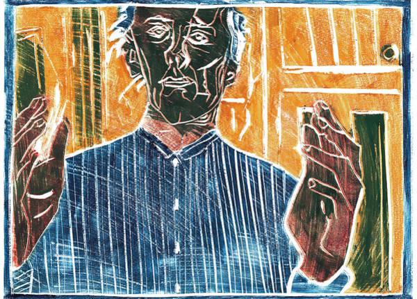 Relief - Hands Portrait 1 by Artist Dot