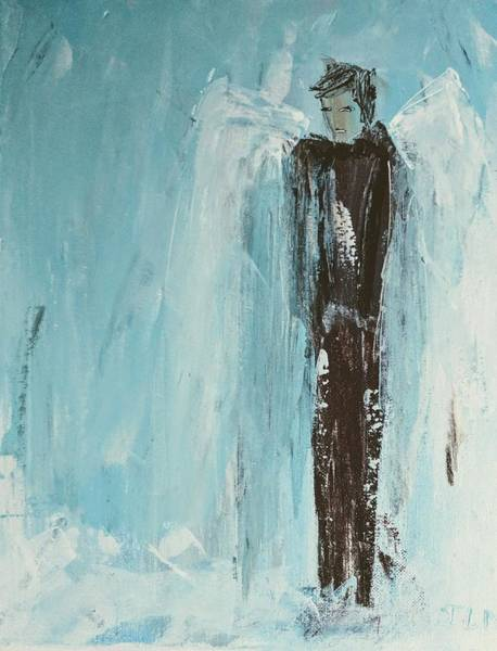 Painting - Handsome Angel by Jennifer Nease