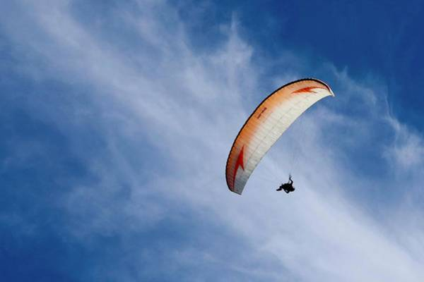 Photograph - Hang Glider by Sarah Lilja