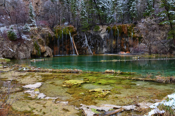 Mixed Media - Hanging Lake 3 by Angelina Tamez