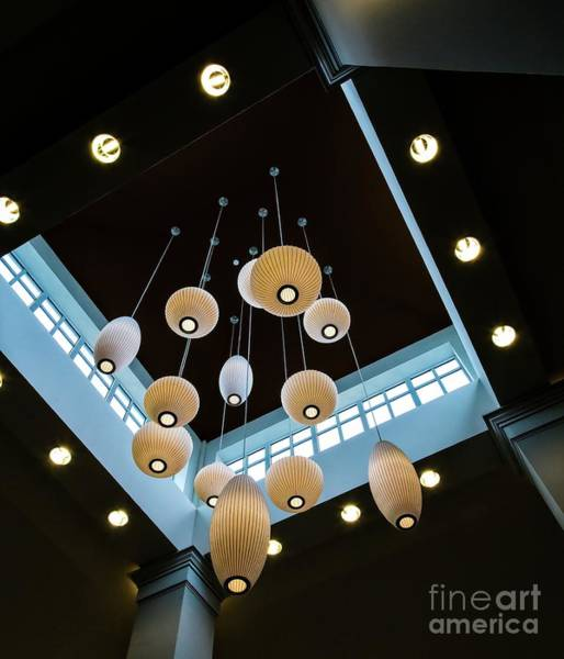 Wall Art - Photograph - Hanging Lights by Jon Burch Photography