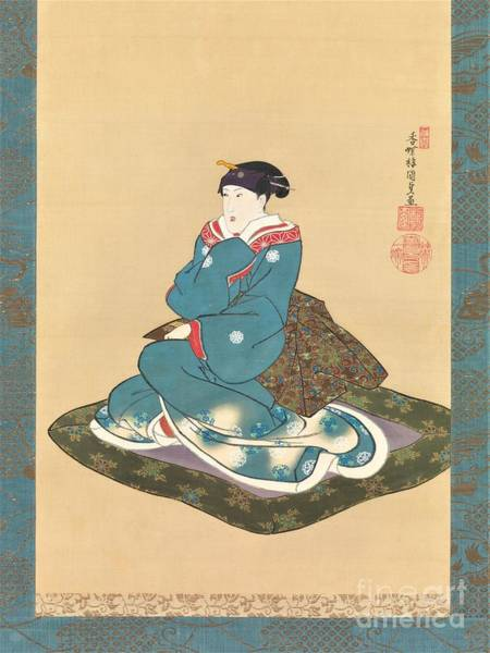 0 Painting - Hanging Scroll  by Reproduction