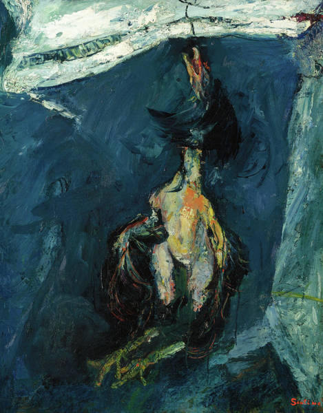 Wall Art - Painting - Hanging Turkey by Chaim Soutine