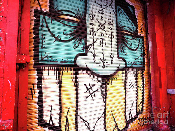 Wall Art - Photograph - Hangman Mural In Little Italy New York City by John Rizzuto