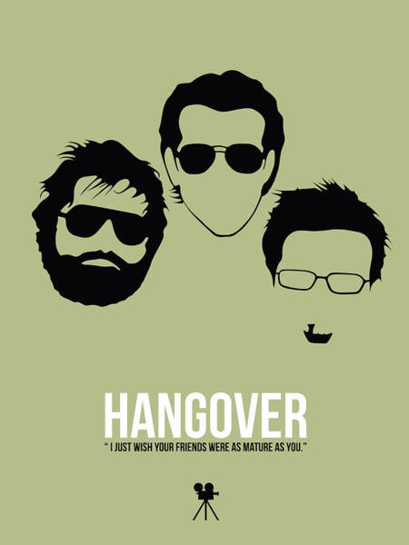 Wall Art - Digital Art - Hangover by Naxart Studio