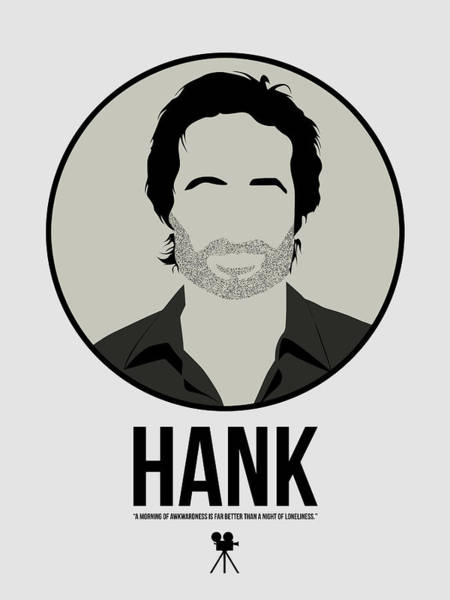 Legendary Digital Art - Hank by Naxart Studio