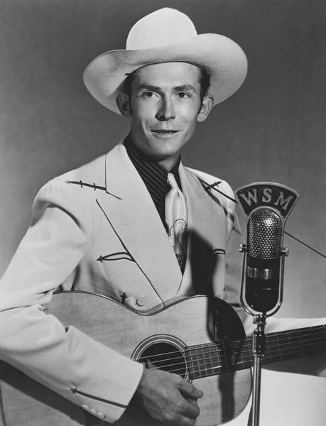 Western Costume Photograph - Hank Williams 1951 by Wsm