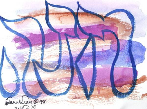 Painting - Hannah Chana Nf3-9 by Hebrewletters Sl