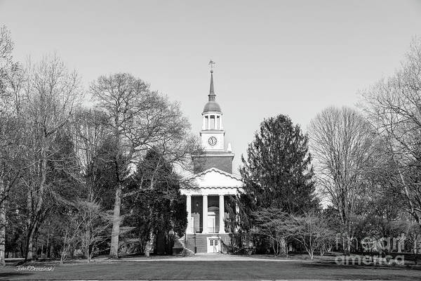 Photograph - Hanover College Parker Auditorium by University Icons