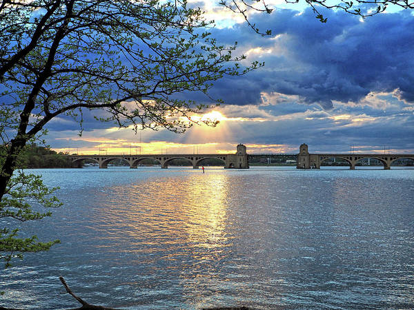 Photograph - Hanover Street Bridge Baltimore Maryland by Bill Swartwout Photography