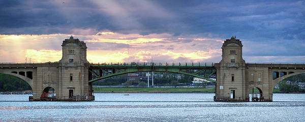 Photograph - Hanover Street Bridge Draw Span by Bill Swartwout Photography