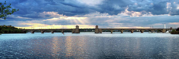 Photograph - Hanover Street Bridge Panorama by Bill Swartwout Photography