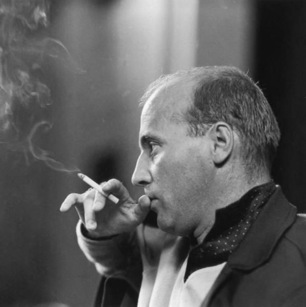 Photograph - Hans Werner Henze by Erich Auerbach