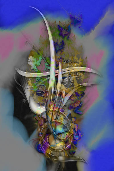 Mixed Media - Happiness by Marvin Blaine