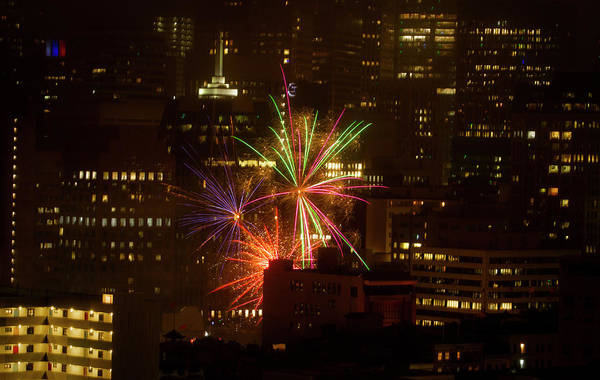 Photograph - Happy 4th From Chinatown Sf by Bonnie Follett