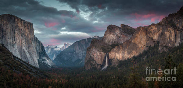 Wall Art - Photograph - Happy 4th Of July From Tunnel View by James Phillips