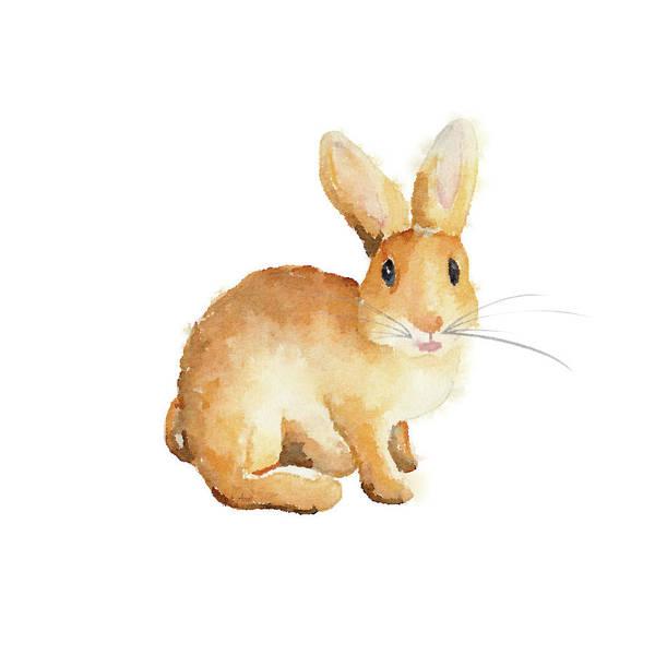 Wall Art - Mixed Media - Happy Bunny II by Andi Metz