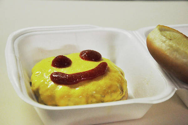 Photograph - Happy Cheesburger by Chance Kafka