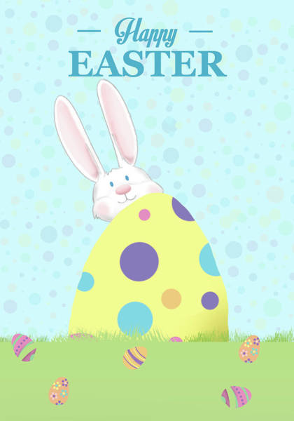 Wall Art - Digital Art - Happy Easter II by Sd Graphics Studio