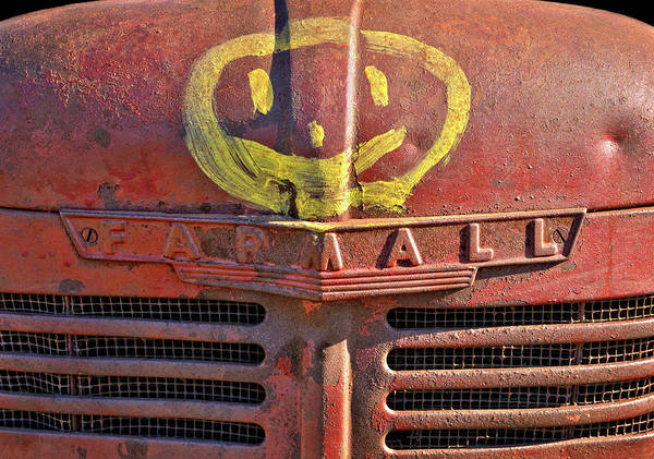 Wall Art - Photograph - Happy Farmall by Luke Moore