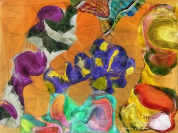 Digital Art - Happy-go-lucky by Kathie Chicoine
