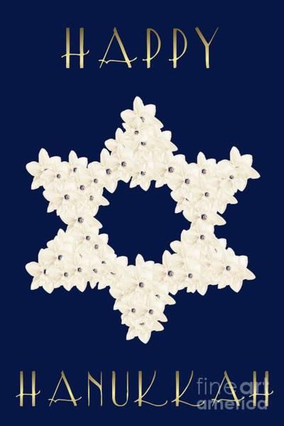 Digital Art - Happy Hanukkah  by Rachel Hannah
