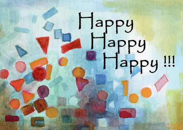 Painting - Happy Happy Happy  by Betsy Derrick