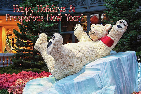 Photograph - Happy Holidays And Prosperous New Year by Tatiana Travelways