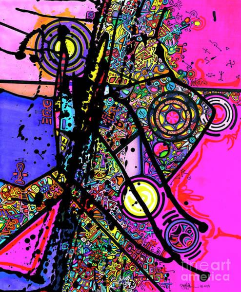 Drawing - Happy by Joey Gonzalez