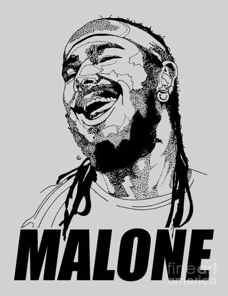 Deja Vu Digital Art - Happy Malone Ever by Pedroquarrend